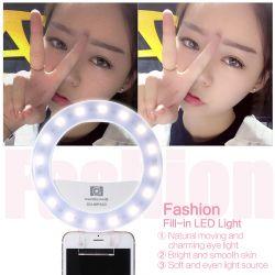Φωτιστικό LED δακτυλίου για selfies με καθρέπτη. κουμπωτό για κινητά. 3200-5600°K. CRI 95 NG CN-MP32C Nanguang