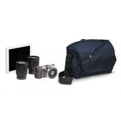 NX ταχυδρομικού τύπου τσάντα ώμου για μηχανή CSC. Μπλε MB NX-M-BU Manfrotto