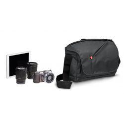 NX ταχυδρομικού τύπου τσάντα ώμου για μηχανή CSC. Γκρι MB NX-M-GY Manfrotto