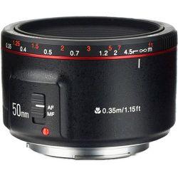 Φακός 50mm f1.8 για Canon Μηχανές Yongnuo YN-50-1,8II