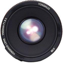 Φακός 50mm f1.8 για Canon Μηχανές Yongnuo YN-50-1,8