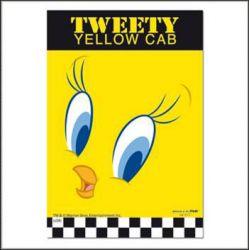 Μαγνητης Tweety Yellow Cab (Μεταλλικος) 6912-0444