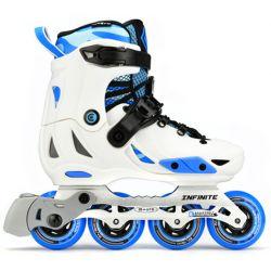 Πατίνια Rollers Infinite Αυξομειούμενα Micro Λευκό/Μπλε