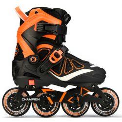 Αυξομειούμενα Rollers Πατίνια Champion Micro Πορτοκαλί