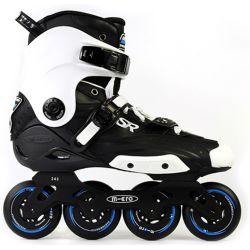 Πατίνια Rollers Slalom SR Micro Μαύρο/Λευκό