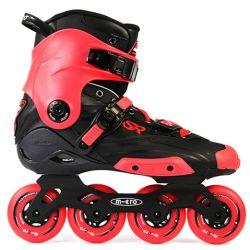 Πατίνια Rollers Slalom SR Micro Μαύρο/Κόκκινο
