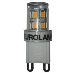 Λαμπα led SMD G9 2.5W 2700K 240v Eurolamp 147-84631