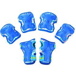Σετ Παιδικά Προστατευτικά για Rollers Micro Small MSA-PR Μπλε