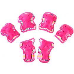 Σετ Παιδικά Προστατευτικά για Rollers Micro Medium MSA-PR Ροζ