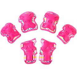 Σετ Παιδικά Προστατευτικά για Rollers Micro Large MSA-PR Ροζ