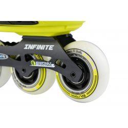 Πατίνια Rollers Infinite Αυξομειούμενα Micro Κίτρινο