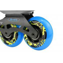 Πατίνια Rollers Αυξομειούμενα Discovery Micro Μαύρο