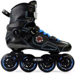 Rollers Πατίνια Slalom Delta Micro Μαύρο