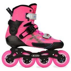 Rollers Πατίνια Slalom Delta-Χ Micro Ροζ