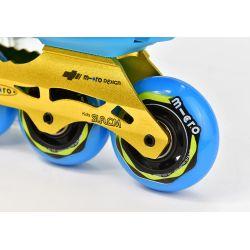 Πατίνια Rollers Αυξομειούμενα S6 Micro Μπλε