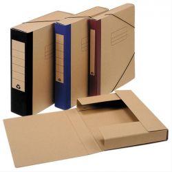 Κουτι Αρχειου Με Λαστιχο Οικολογικο Ραχη 8cm 25x35cm