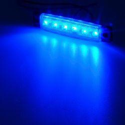 Φως όγκου LED με 6 SMD/DC12-24V για αυτοκίνητα και φορτηγά - Μπλε OEM 53403