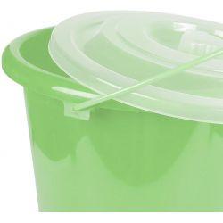 Πλαστικός κουβάς με καπάκι 13lt OEM 34427 Λαχανί
