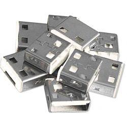 USB Port Blocker (10 Pcs) blue 40462 LINDY