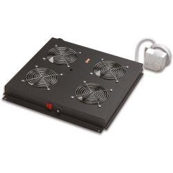 Σετ Ανεμιστήρα X4. Με Θερμοστάτη LN-FAN-THM-4FFS-BL ACR.0121 LANDE