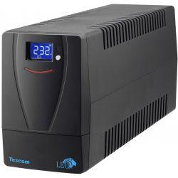 Line Interactive UPS Οικιακής Χρήσης LEO LED 1000A UPS.0224 Tescom