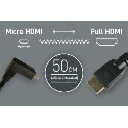 Σπιράλ Καλώδιο 30cm - Micro HDMI to Full HDMI CAB007 Atomos