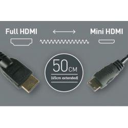 Σπιράλ Καλώδιο 30cm - Full HDMI to Mini HDMI CAB008 Atomos