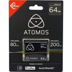 Κάρτα μνήμης CFast 64GB CFT064 Atomos
