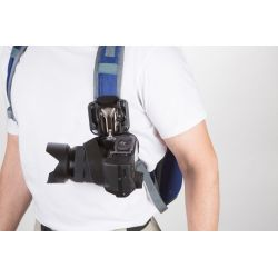 SpiderLight BackPacker Kit with Holster. Plate and Pin SPD-180 Spider