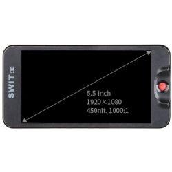 Monitor LCD  5.5'' Full HD 4K-HDMI CM-55C Swit