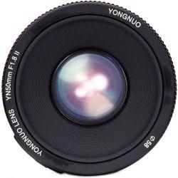 Φακός Yongnuo 50mm f1.8 για μηχανές Canon YN50 1.8II Yongnuo