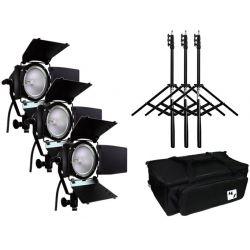 ΚΙΤ τριών φωτιστικών Tungsten Quartz MZ-300-Kit3