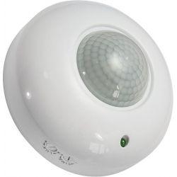 Αισθητήρας Κίνησης Οροφής 360 Μοίρες 6A 230v Λευκός GloboStar 77855