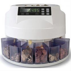 Αυτοματος Μετρητης & Ταξινομητης Κερματων Euro Safescan 1250