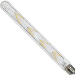 Γλόμπος LED 30cm Edison Filament Retro E27 8 Watt T30 Θερμό Dimmable  GloboStar 44014