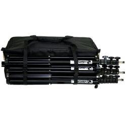 Kit φωτισμού Led 3200K LED176W-Basic-Kit3 MZ
