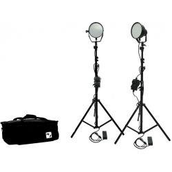 Kit φωτισμού Led 3200K - 5500K LED336B-Basic-Kit2 MZ