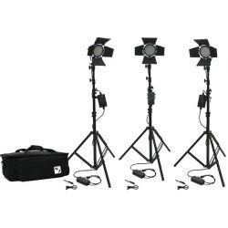 Kit φωτισμού Led 3200K - 5500K LED176B-Full-Kit3 MZ
