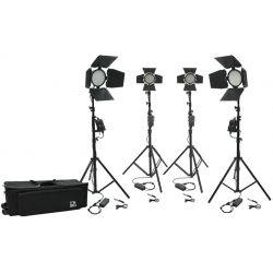 Kit φωτισμού Led 3200K - 5500K LED336-176B-Full-Kit4 MZ