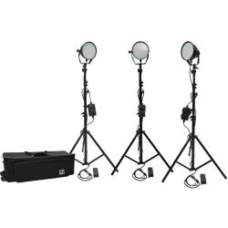 Kit φωτισμού Led 3200K - 5500K LED336B-Basic-Kit3 MZ