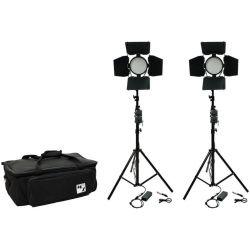 Kit φωτισμού Led 3200K - 5500K LED336B-Full-Kit2 MZ