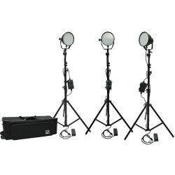 Kit φωτισμού Led 3200K LED336W-Basic-Kit3 MZ