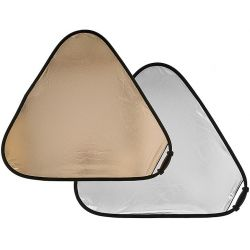 Μεγάλος Ανακλαστήρας TriGrip 120 εκ, 2 όψεων Sanlite/Soft Silver LA 3728 Lastolite