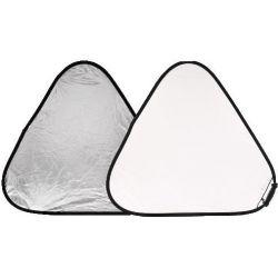 Μεγάλος Ανακλαστήρας TriGrip 120 εκ, 2 όψεων Ασημί /Λευκός LA 3731 Lastolite