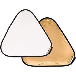 Μεγάλος Ανακλαστήρας TriGrip. 120 εκ., 2 όψεων. Xρυσός /Λευκός LA 3741 Lastolite