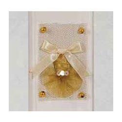 Αλμπουμ Γαμου Ριζοχαρτο Craft Paper Ορθογωνιο Παραθυρο & Φιογκος 35X35Cm 50 Φύλλων 12601