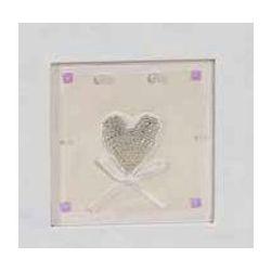 Αλμπουμ Γαμου Ριζοχαρτο Craft Paper Τετράγωνο παράθυρο & καρδιά 35X35Cm 50 Φύλλων 12601