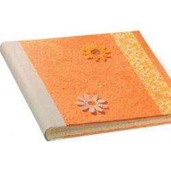 Αλμπουμ Ριζοχαρτο Bandi Paper 30X30Cm 30 Φύλλων Πορτοκαλί 12335