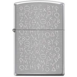 Αναπτήρας Greek Letters 200-071158 Zippo
