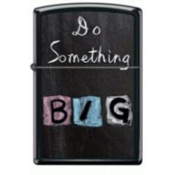 Αναπτήρας μαύρος Do Something Big 218-52313 Zippo